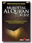 MP3 Murattal Al Quran 30 Juz Syaikh Sudais (Disertai Terjemah Suara Per Ayat)