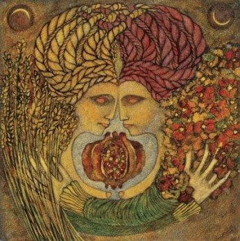Artwork by Meinrad Craighead