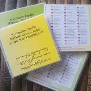 CD Koleksi Naskah Aksara Jawa