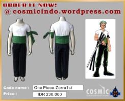 jual kostum cosplay - 08880.600.3287_OP Zorro