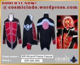 Kostum Cosplay-KR Wizard Flame Style Casual Custom-088806003287