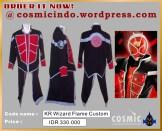 Kostum Cosplay-KR Wizard Flame Style Custom-088806003287