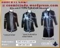 Kostum Cosplay-SAO Kirito Custom-088806003287