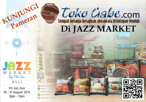 TOKO GABE HANDICRAFT ON JAZZ MARKET BY THE SEA 2014