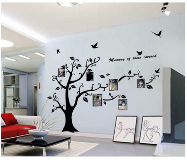 Hiasan Dinding Dengan Wall Sticker