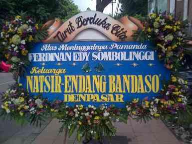 Pesan Bunga Papan Duka Cita Surabaya - 08123.5931.288
