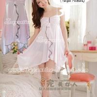 Baju Tidur Seksi Wanita-BT 642 putih