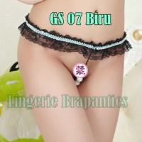 G string Cewek Hiasan Mutiara GS 07