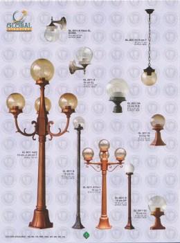 001 LAMPU PILAR DINDING ANDONG DELMAN MALIOBORO