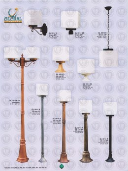011 LAMPU PILAR DINDING ANDONG DELMAN MALIOBORO