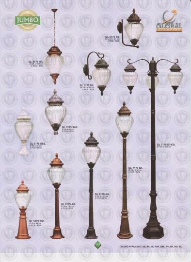 112 LAMPU PILAR DINDING ANDONG DELMAN MALIOBORO