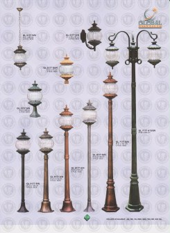 114 LAMPU PILAR DINDING ANDONG DELMAN MALIOBORO
