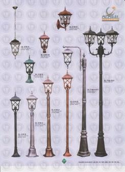 118 LAMPU PILAR DINDING ANDONG DELMAN MALIOBORO