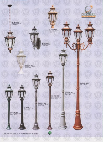 123 LAMPU PILAR DINDING ANDONG DELMAN MALIOBORO
