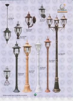 125 LAMPU PILAR DINDING ANDONG DELMAN MALIOBORO