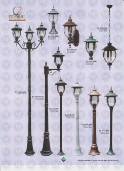 126 LAMPU PILAR DINDING ANDONG DELMAN MALIOBORO