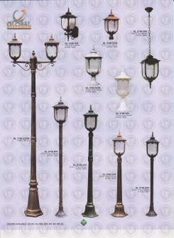 127 LAMPU PILAR DINDING ANDONG DELMAN MALIOBORO