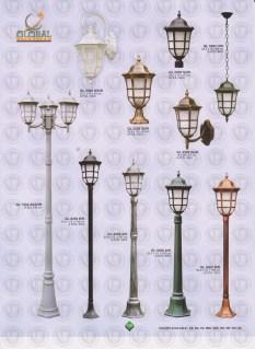 136 LAMPU PILAR DINDING ANDONG DELMAN MALIOBORO