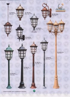 137 LAMPU PILAR DINDING ANDONG DELMAN MALIOBORO