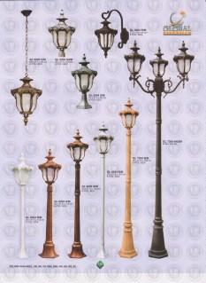 139 LAMPU PILAR DINDING ANDONG DELMAN MALIOBORO