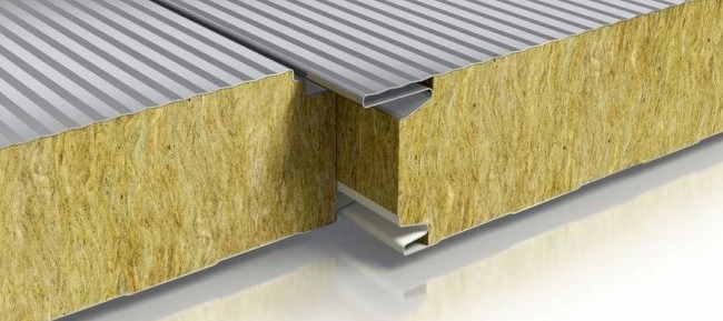 Gambar 1 – Rockwool sebagai bahan peredam suara di partisi sliding wall