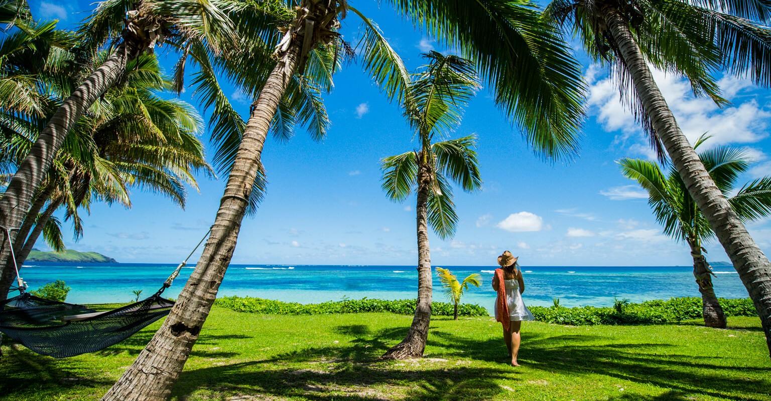 Tokoriki Island Resort Resort Fiji Islands Hammock Ocean