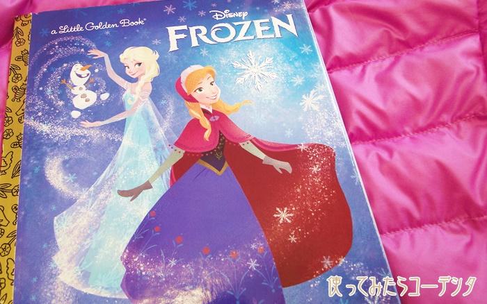 アナと雪の女王,英語