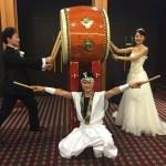 2015年10月31日 結婚披露宴 和太鼓三味線演奏