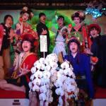 和太鼓・歌舞伎・花魁・将軍御座船安宅丸2周年記念感謝祭