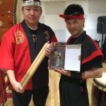 再会!!多謝!!再見!!和太鼓・三味線ダブルで体験。伝統文化で日中友好関係を!!