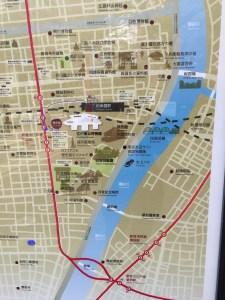 両国ロードmap江戸博物館付近