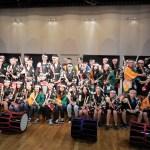 台湾高雄市英明中学校オーケストラ部 40名様和太鼓体験