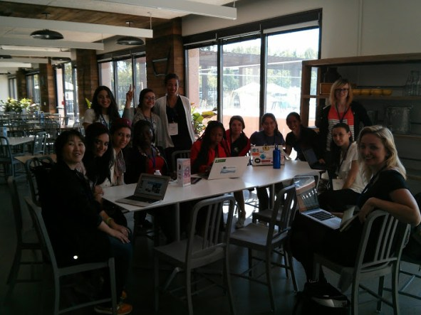 GDG Women Lead and Women Techmaker at GDG Summit! – à Google HQ, Silicon Valley.