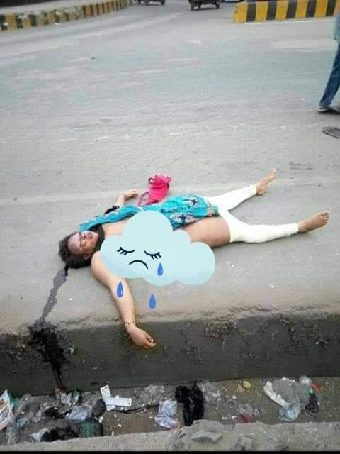 Shocking - Unknown Woman Found  N3ked & Dead on the Street