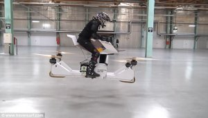 Scor­pi­on 3 World's First Hover/Flying Bike Pro­to­type Released (Pho­tos, Video)