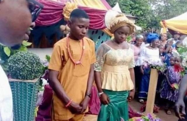 Anambra Teenage Boy Weds