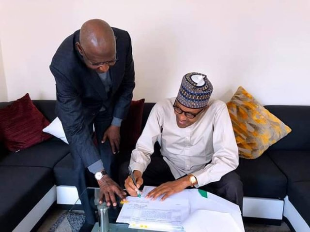 Buhari Assents to London Bill