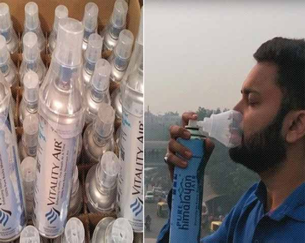Indian Bottled Fresh Air