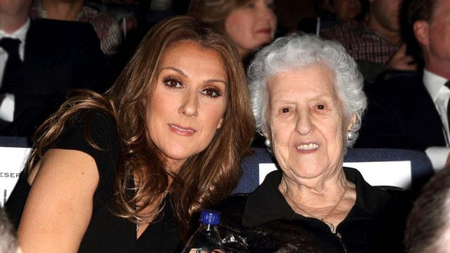 Theresa Dion and Daughter Celine Dion