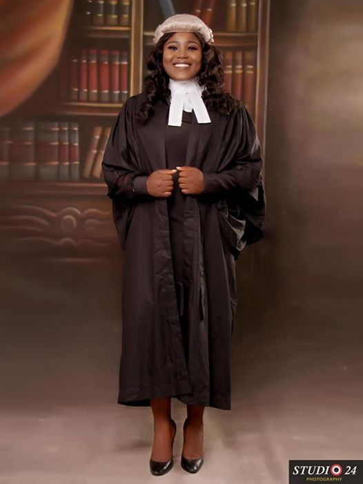 Ifeoma Chinenye Onuike Esq, BL (Honours), LLM (High Honors), LLB (High Honours), Bachelors degree (Honours), ACIarb (U.K), ACIPM, ASM. Call to Bar at The Nigerian Law School