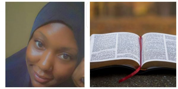 secretly studying the bible, Fatima Yusuf