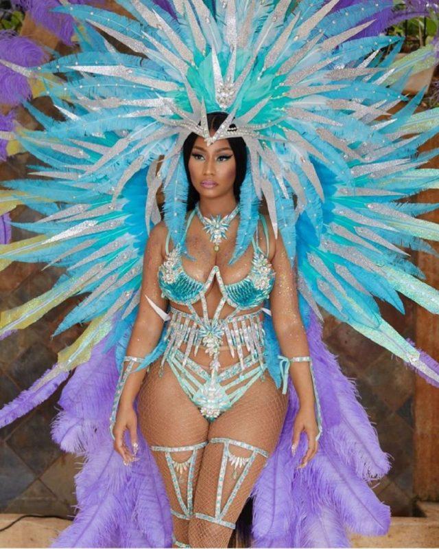 Nicki Minaj Outfit at Trinidad Carnival is Smoking Hot