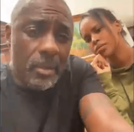 Actor Idris Elba responds over having wife by his side while announcing he tested positive for coronavirus