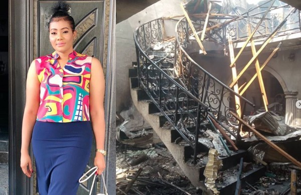 Nollywood actress, Nkiru Umeh has disclosed that she is one of the victims of Abule Ado gas explosion