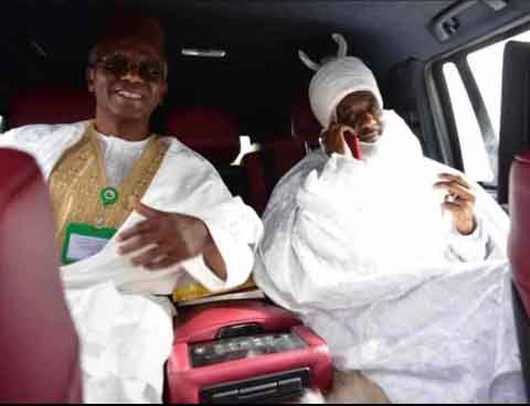 Photos of Former Emir Sanusi and el Rufai Chilling Goes Viral