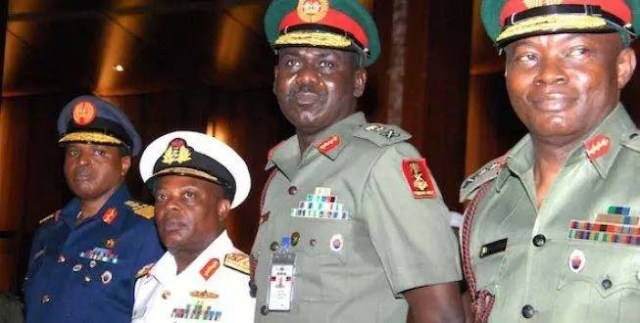 Finally Buhari Approves the Sack of Service Chiefs