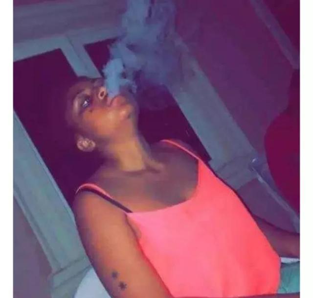 Photos of Billionaire Wife Regina Daniels Smoking Kush Breaks the Internet