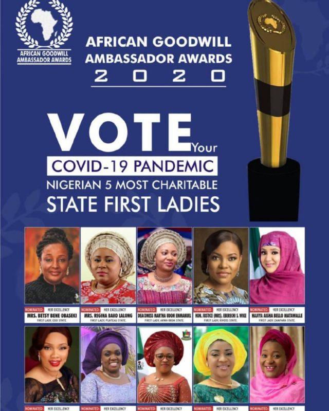 Africa Goodwill Ambassador Awards 2020 - Meet Your Nominees