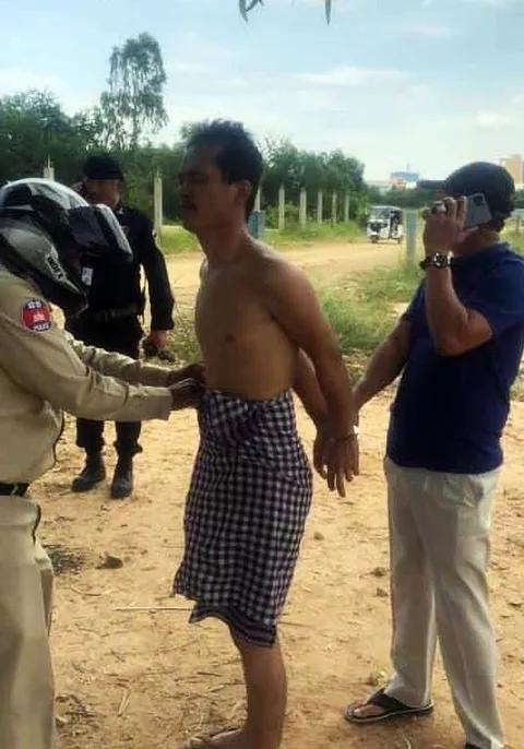 Cambodian Man Arrested