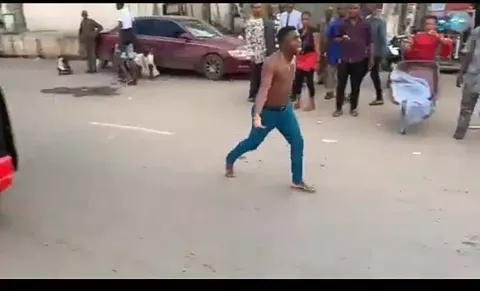 Owerri Big Boy Runs Mad